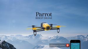 Bebop Drone in Sky